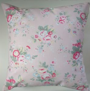 Cushion Cover in Cath Kidston Trailing floral Pink 16""
